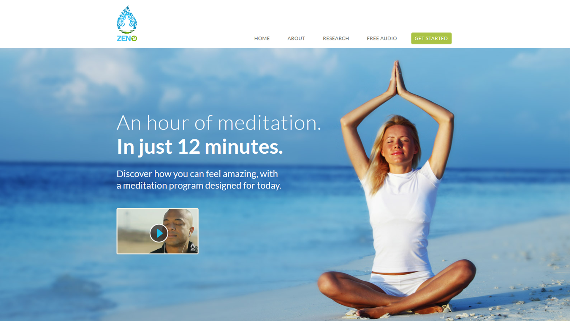 Squeeze 1-Hour of Meditation into Just 12 Minutes: Zen12 Review